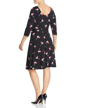 Leota Plus - Ilana Floral Belted Dress