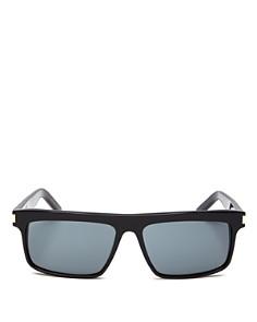 Saint Laurent - Women's Rectangular Sunglasses, 57mm