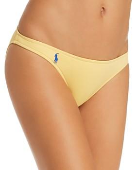 Ralph Lauren - Solid Taylor Hipster Bikini Bottom