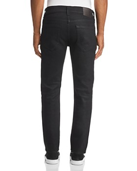 True Religion - Rocco Slim Fit Jeans in Midnight Black Coated