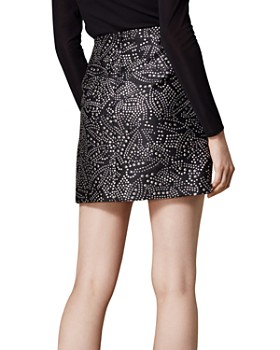 KAREN MILLEN - Jacquard Skirt
