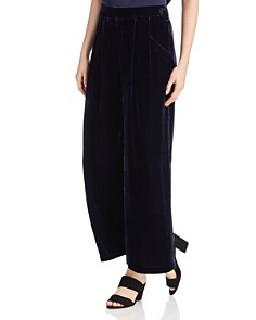 Eileen Fisher - Velvet Wide-Leg Pants