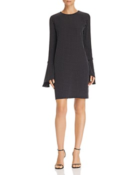 Equipment - Mari Dotted Silk Dress