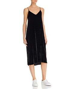 ATM Anthony Thomas Melillo - Velvet Slip Dress