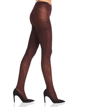 Falke - Kyoto Embossed Floral Opaque Tights