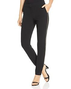 Lafayette 148 New York - Manhattan Embellished Skinny Pants