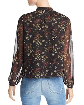 BB DAKOTA - Jasmine Floral Print Top