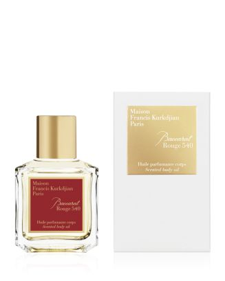 Baccarat Rouge 540 Scented Body Oil 2.4 Oz. by Maison Francis Kurkdjian