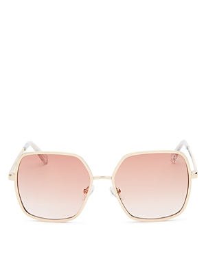 Quay Women's  x Finders Keepers Undercover Square Sunglasses, 57mm