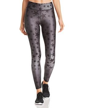Terez - Steel Star Print Leggings