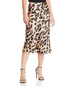Cotton Candy LA - Leopard Print Midi Skirt