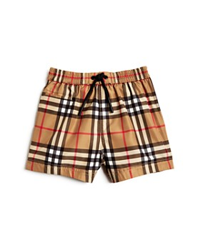 Burberry - Boys' Galvin Check Swim Trunks - Baby