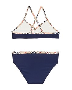 Burberry - Girls' Crosby 2-Piece Swimsuit - Little Kid, Big Kid