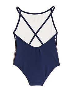 Burberry - Girls' Sandine Core Swimsuit - Little Kid, Big Kid