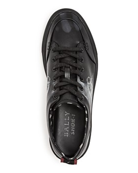 Bally - Men's Helliot x Fly Leather Lace-Up Sneakers