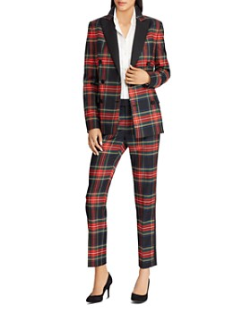 Ralph Lauren - Plaid Straight Pants - 100% Exclusive