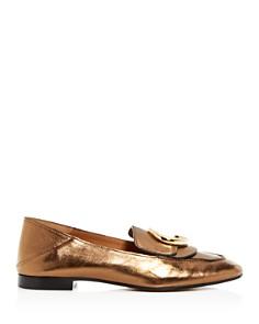 Chloé - Women's Chloe Embellished Loafers