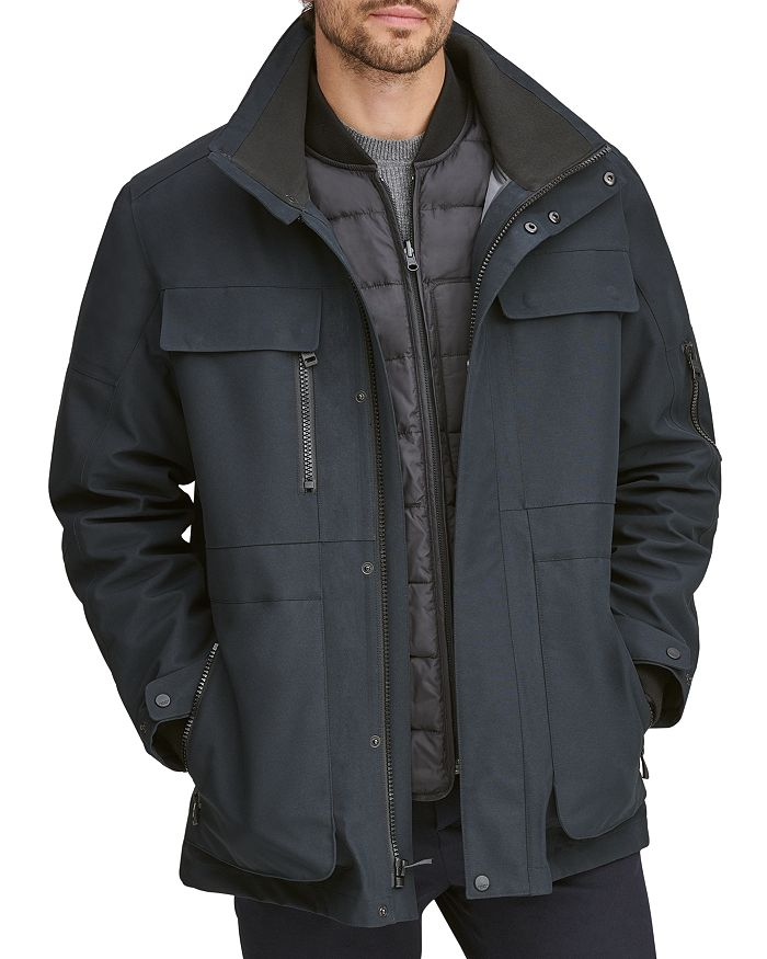 f6a2a559c8 Andrew Marc - Hamilton Systems Fur-Trimmed 3-in-1 Jacket