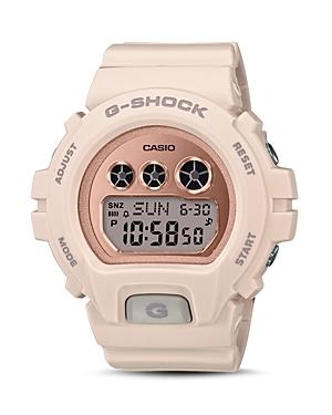 G-Shock G-SHOCK S SERIES BLUSH-TONE WATCH, 46MM