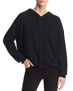 Zadig & Voltaire - Nox Patch Hooded Cashmere Sweater