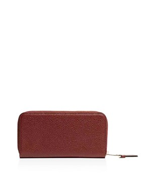 KAREN MILLEN - Medium Leather Zip-Around Wallet