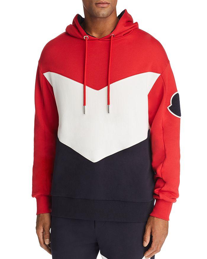 Moncler - Chevron Hooded Sweatshirt