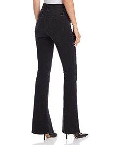 Joe's Jeans - Slit-Front Micro Flare Jeans in Olympia