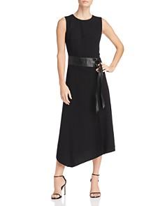 Calvin Klein - Belt Detail Midi Dress