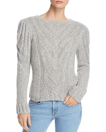 3f180bd82 Rebecca Taylor Cozy Cable Sweater
