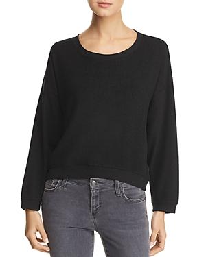 Three Dots Cropped Sweatshirt