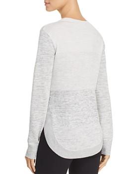 Heather B - Space-Dye Sweater
