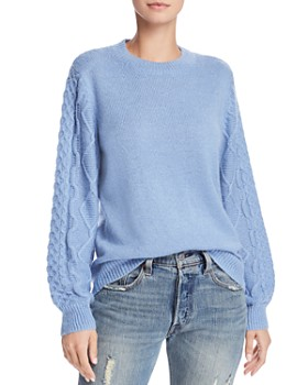 Rebecca Minkoff - Penny Cable-Sleeve Sweater