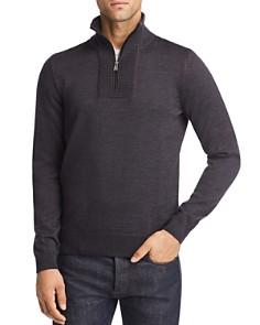 BOSS Hugo Boss - Eleo Quarter-Zip Sweater - 100% Exclusive