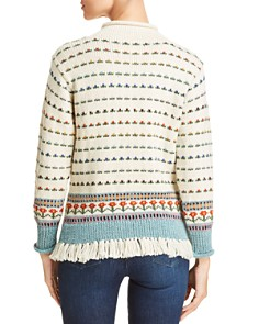 Tory Burch - Floral Jacquard Sweater