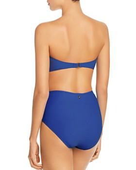 kate spade new york - Tie High-Waist Bikini Bottom