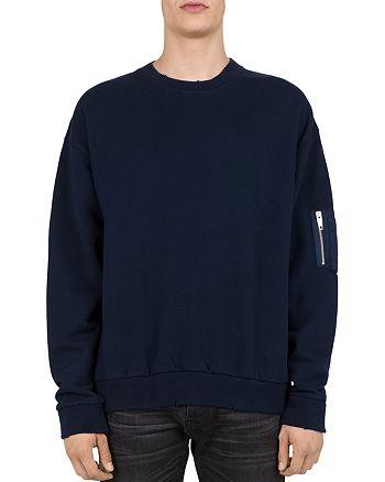 The Kooples - Bomber-Pocket Crewneck Sweatshirt