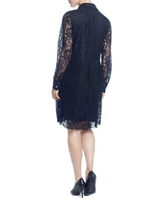 CATHERINE Catherine Malandrino - Lace Shirt Dress