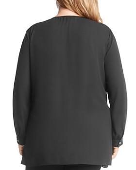 Karen Kane Plus - Sparkle Long Sleeve Top