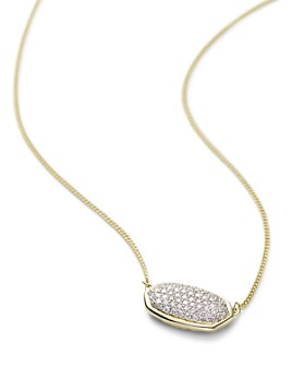 Kendra Scott - Elisa Diamond Necklace in 14K Yellow Gold, 14K Rose Gold or 14K White Gold, 15""