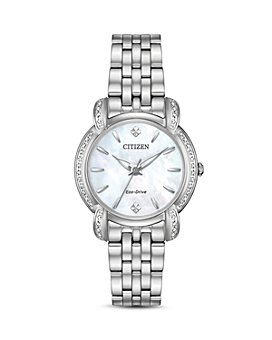 Citizen - Jolie Diamond Eco-Drive Mother-of-Pearl Watch, 30mm