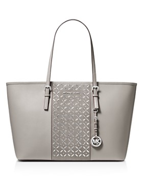 MICHAEL Michael Kors - Voyager Large Hotfix Leather Tote