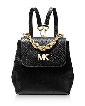b055c193ebd3 ... clearance michael michael kors mott mini twist chain messenger backpack  c800a 68bb6