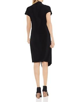 VINCE CAMUTO - Asymmetric Drape Front Dress