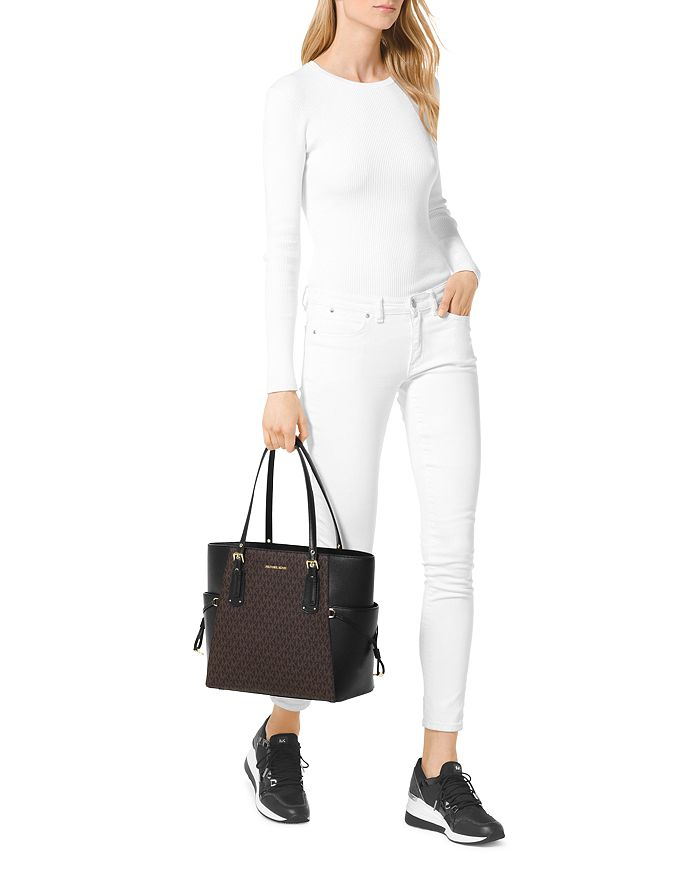 0554433a32442d MICHAEL Michael Kors Voyager East West Signature Tote | Bloomingdale's