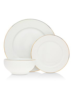 Godinger - Pique 18-Piece Dinnerware Set - 100% Exclusive