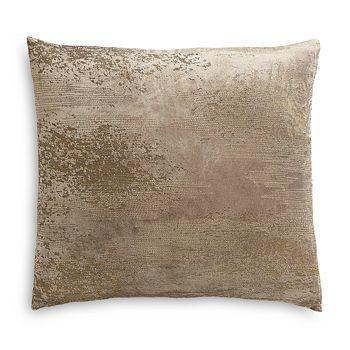 "Donna Karan - Foil Stitch Decorative Pillow, 18"" x 18"""