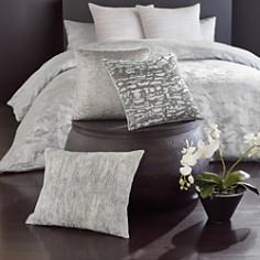 "Donna Karan - Luna Pleated Tie Dye Decorative Pillow, 16"" x 20"""