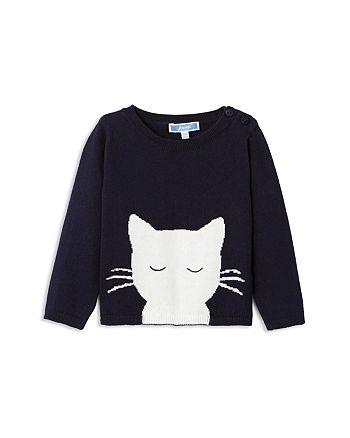 8e6e4084aeaf Jacadi Girls  Cat Motif Sweater - Baby