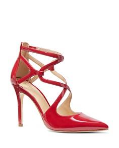 MICHAEL Michael Kors - Women's Catia Closed Toe Strappy Pumps