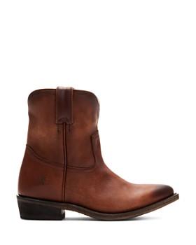 Frye - Women's Billy Short Leather Western Boots